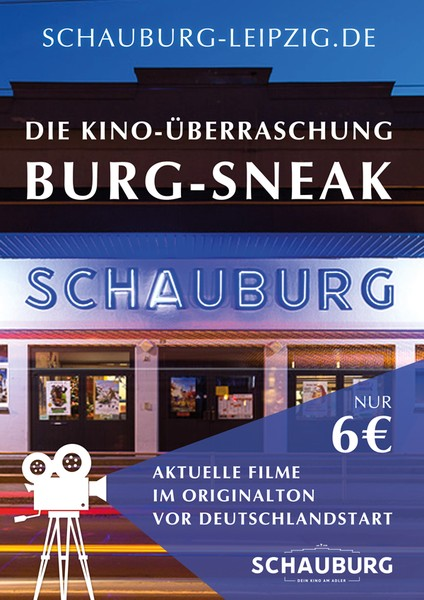 Poster - BURG SNEAK (in OmdU) am 02.12.2020